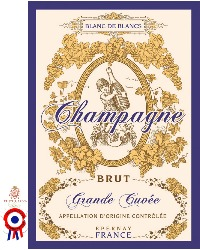 French Champagne Canvas Cotton Drying Towel