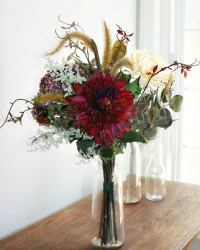 French Country Autumn's Promise Flower Bouquet