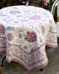 French Avignon Lavender Table Throw
