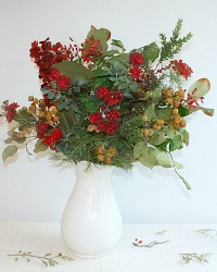 30% Off Provencal Winter Wine Passion Bouquet