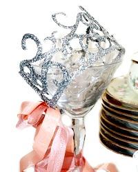Glitter Birthday Celebration Crown Sml.