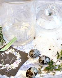 Luxury French Lavande et Fleur Bath Ice with Silver Spoon