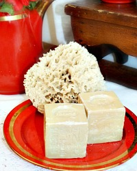 French Marseille Naturelle Cube Soap Gift Set