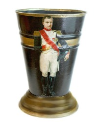 French Country Cachepot Napoleon Noir