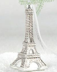 Parisian Gilded Eiffel Ornament