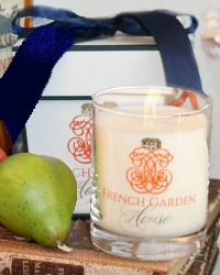 French Poire d' Saison Luxury Candle