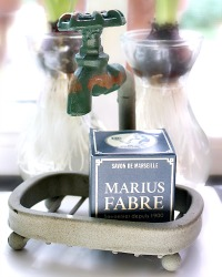 French Gardener's Soap & Faucet Holder Gift
