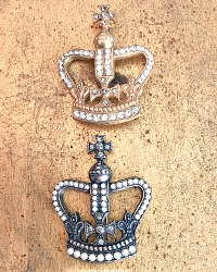 French Crown Pin