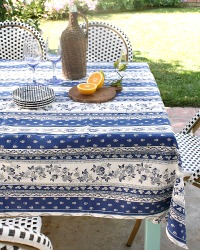 French Avignon Cotton Tablecloth Provence
