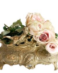 French Rococo Style Jardiniere Cherubs