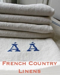 French Country Linens