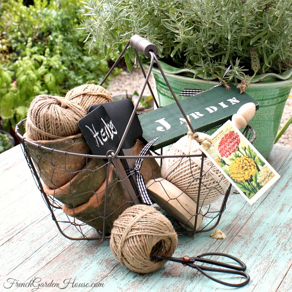 French Gardener's Gift Basket