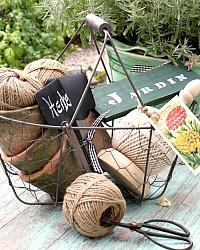 French Gardener's Gift Basket