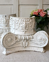 Antique Ornate Corinthian Column Capital Architectural Salvage