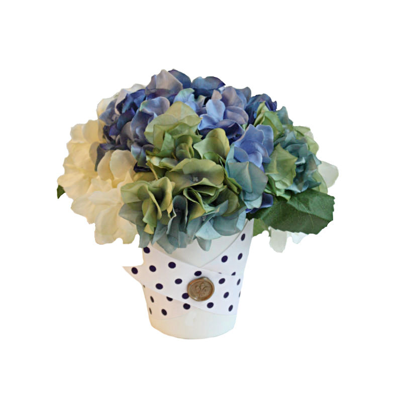 Belle Blue Flower Arrangement