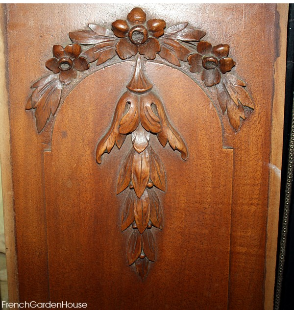Antique French Architectural Hand Carved Wood Fragments