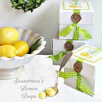 Bonbons au Citron de Grandmere Gift Box