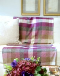 Luxury Lambswool Heather Throw