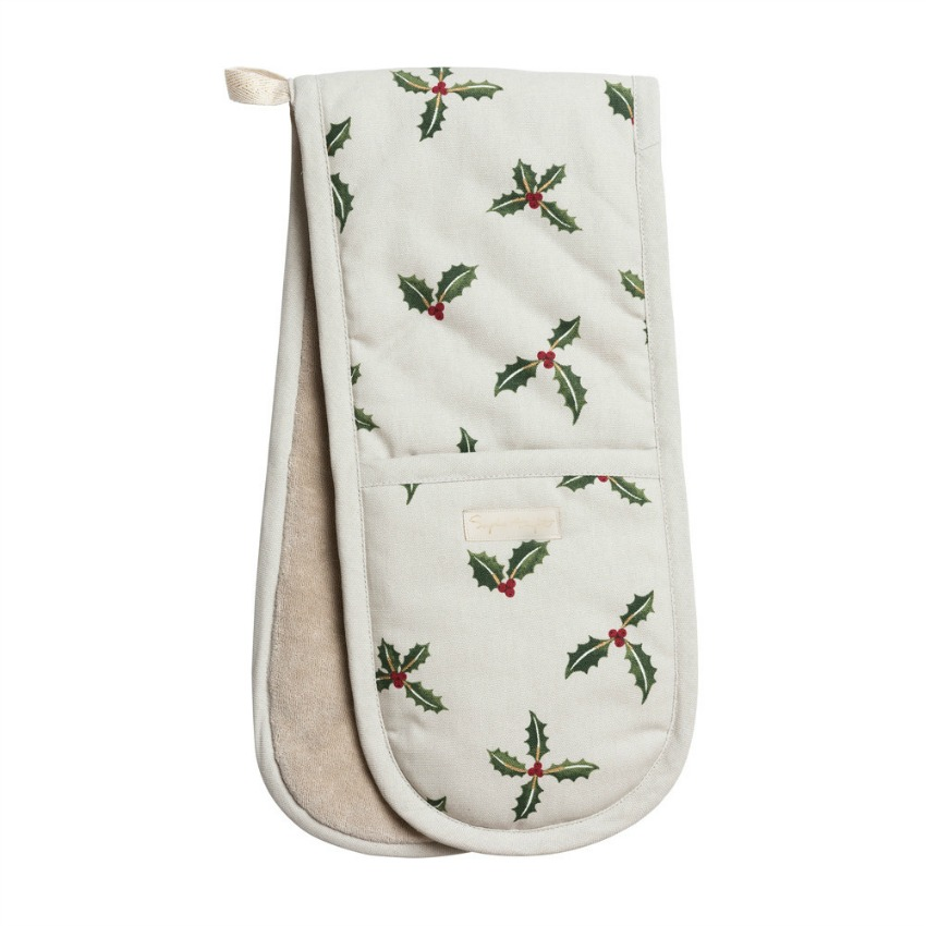 Holiday Berries Hostess Double Oven Glove