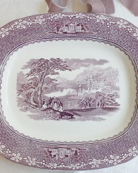 Vintage Royal Staffordshire Mulberry Serving Platter