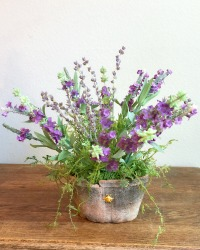 French Country Lavande Abeille Pot-Last one!