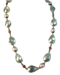 Champagne Ocean Delight Necklace