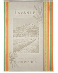 Lavande de Provence Drying Tea Towel from France