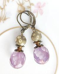 Reves de Lavande Earrings
