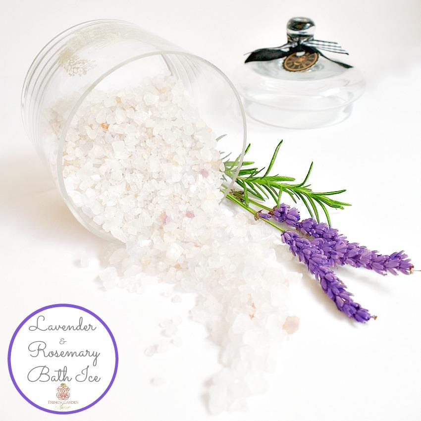 French Lavender & Rosemary Bath Ice Luxury Gift Set