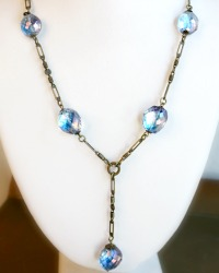 Le Lac Necklace in Blue