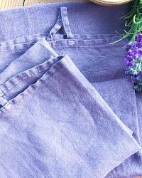 Belgian Linen Bistro Towel Blooming Lavender