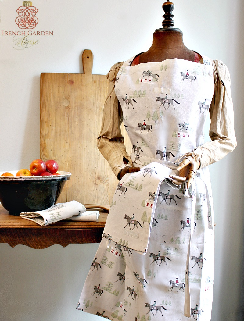 Country Equestrian Apron
