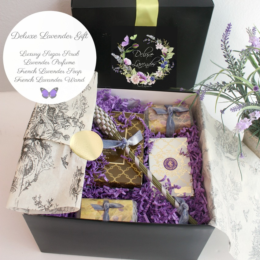 Luxurious Lavender Curated Gift Box