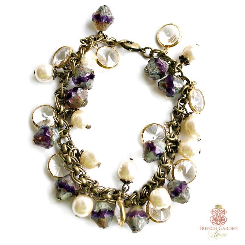 Georgia Hecht Amethyst Bracelet
