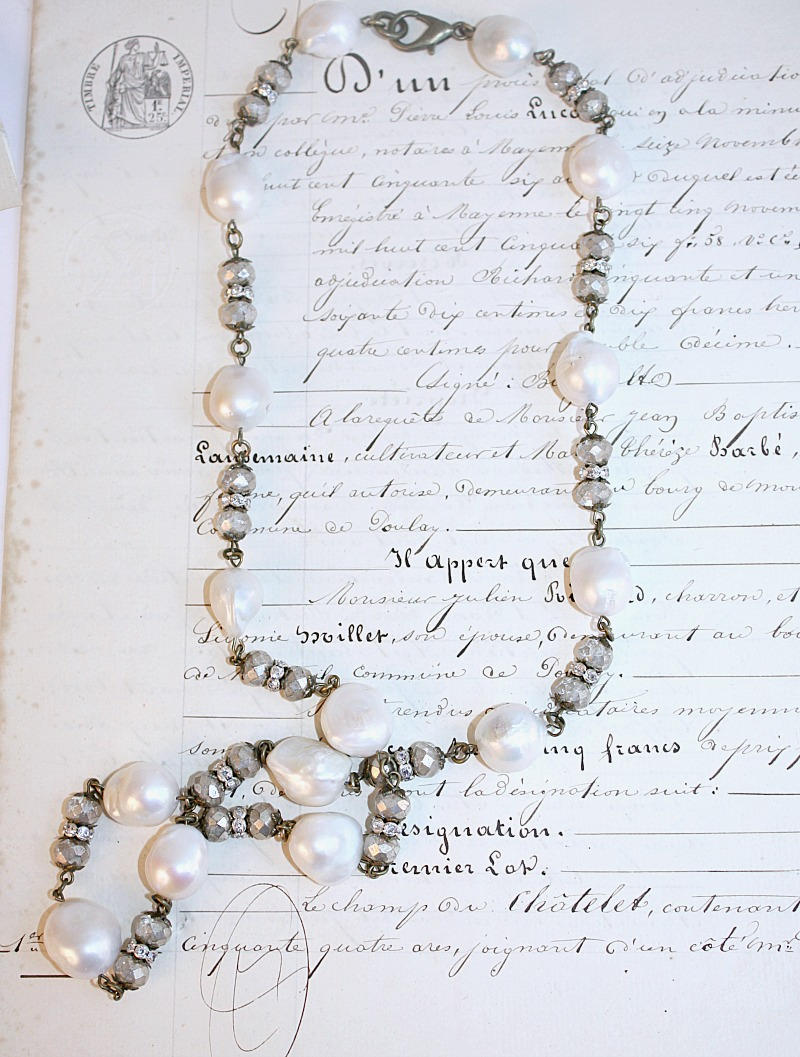 Classic Fresh Water Baroque Pearl Necklace