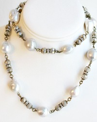 Marie Baroque Pearl Necklace