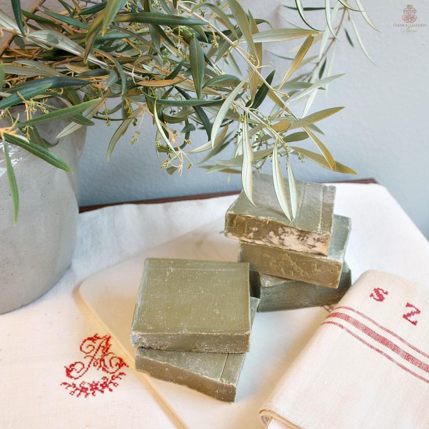 Traditional Savon de Marseille Olive Slabs