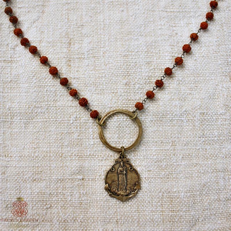 Georgia Hecht Marseille Madonna Necklace