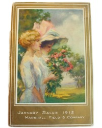 Antique Marshall Field & Company January Sales Catalog