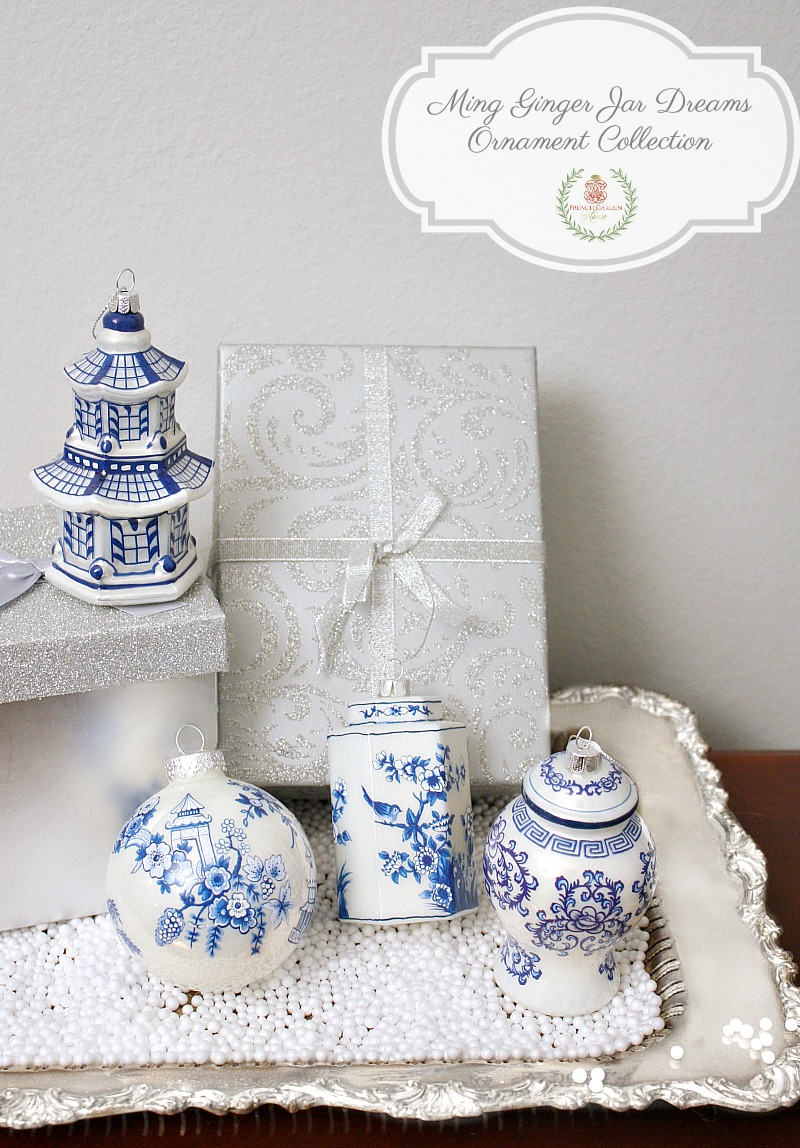 Ming Ginger Jar Dreams Ornament Collection