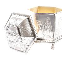 Silver Marriage Box Reproduction