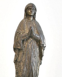 Antique French Madonna Notre Dame Statue