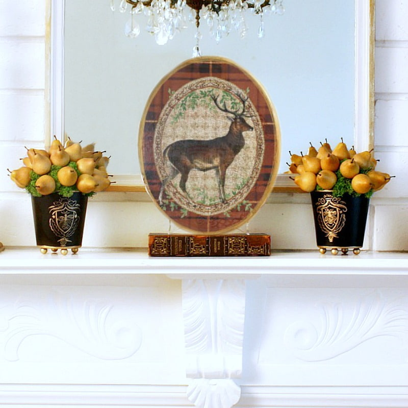 Limited Edition French Country Deer Wall Plaque