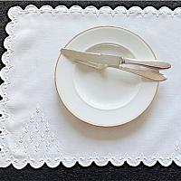 "Marghab ""Old France"" Vintage Placemat Set of 10"