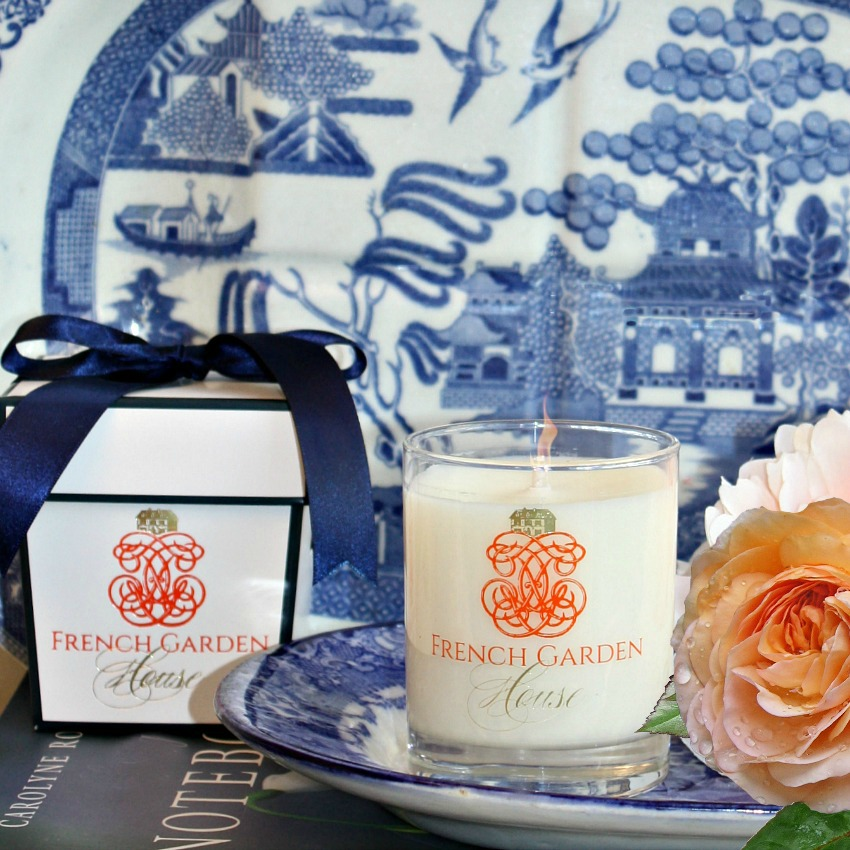 French Opulent Bergamot et Tangerine Luxury Candle
