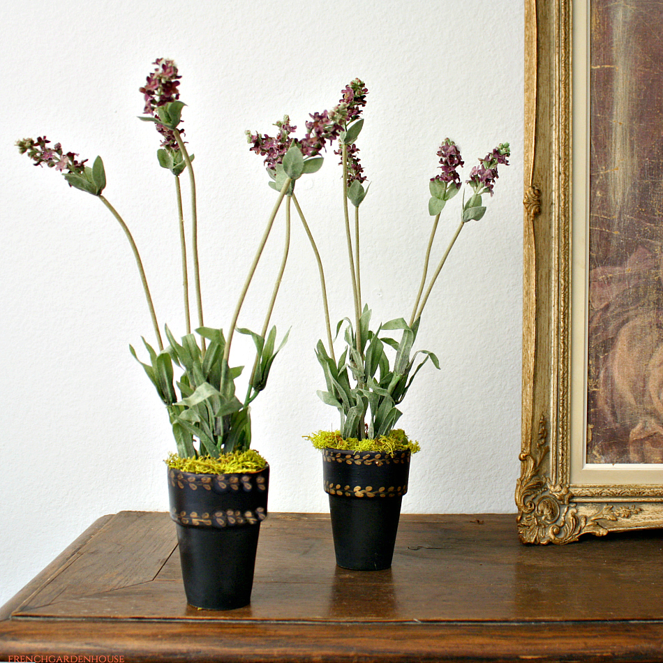 French Country Lavender Petit Pot Pair