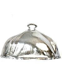 Vintage 1925 Paris Victor Hugo Hotel Silver Food Meat Dome