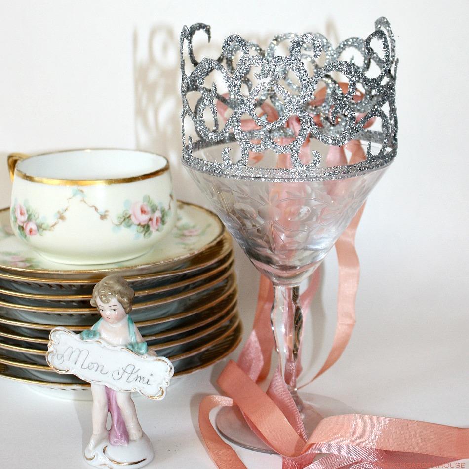 Glitter Birthday Fairy Crown Sml.