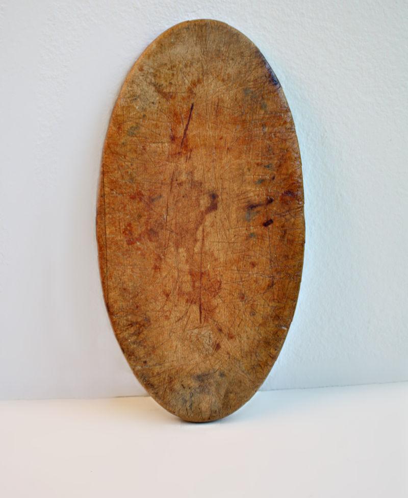Petite Antique Oval Cutting Board