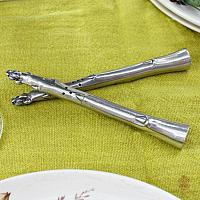 Pewter Asparagus Salt & Pepper Shakers